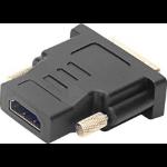 SPEEDLINK SL-170008-BK cable interface/gender adapter DVI HDMI Black
