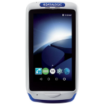 "Datalogic Joya Touch A6 4.3"" 854 x 480pixels Touchscreen 275g Blue, Grey handheld mobile computer"