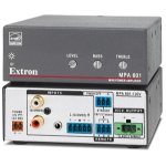 Extron MPA 601-100V audio amplifier Performance/stage Grey