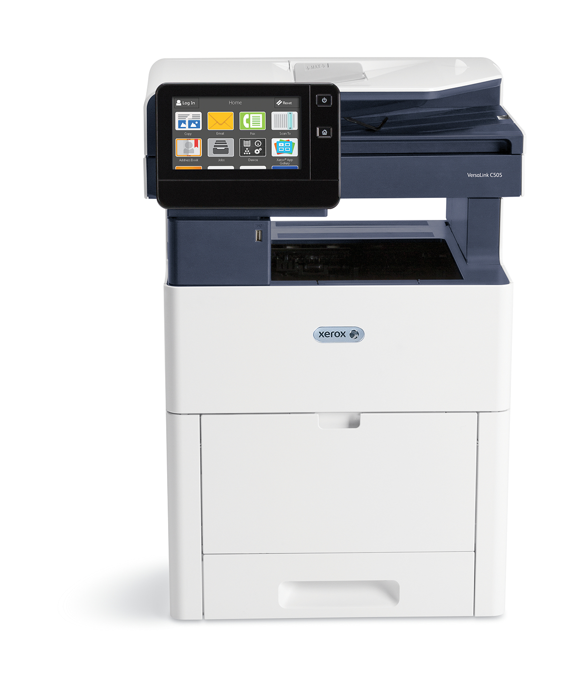 Xerox VersaLink C505 A4 45 ppm A doble cara Copia/Impresión/Escaneado Sin contrato PS3 PCL5e/6 2 bandejas 700 hojas (NO ADMITE ACABADORA)