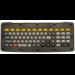 Zebra KYBD-QW-VC-01 teclado para móvil QWERTY Inglés Negro
