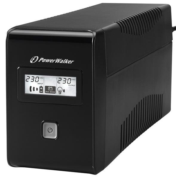 VI 850LCD/UK UPS 850VA *UK*Line-interactive