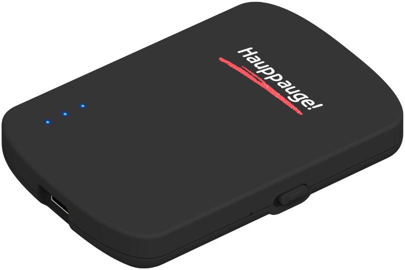 Hauppauge myGalerie Wifi Negro reproductor multimedia y grabador de sonido
