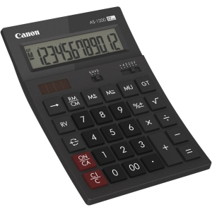 Canon AS1200HB calculator Desktop Basic Gray