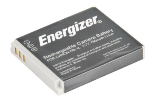 Energizer ENB-C4L camera/camcorder battery Lithium-Ion (Li-Ion) 750 mAh