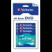 Verbatim DVD-RW 8cm Matt Silver 3-pack