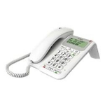 British Telecom Decor 2200 Analog telephone Caller ID White