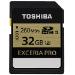 Toshiba 32 GB Exceria PRO 32GB SDHC UHS Class 3 memory card