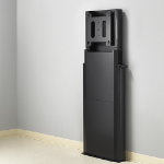Chief XFD1U multimedia cart/stand Black Flat panel Multimedia stand