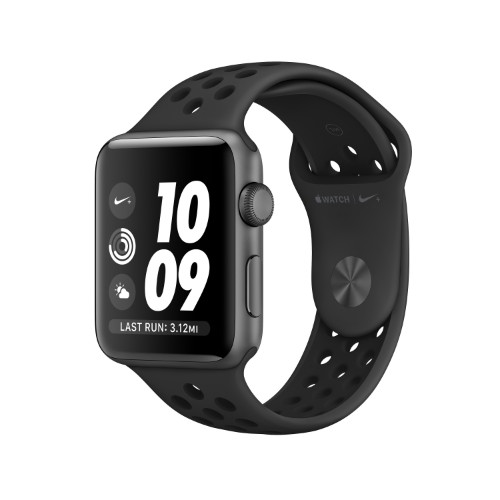Apple Watch Nike+ OLED 42 mm Grey GPS (satellite)