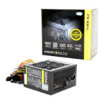 Antec VP Series VP400PC 400W 120mm Silent Fan 80 PLUS Certified PSU