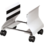 Fellowes 91781 CPU holder Cart CPU holder Platinum