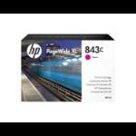 HP C1Q67A (843C) Ink cartridge magenta, 400ml