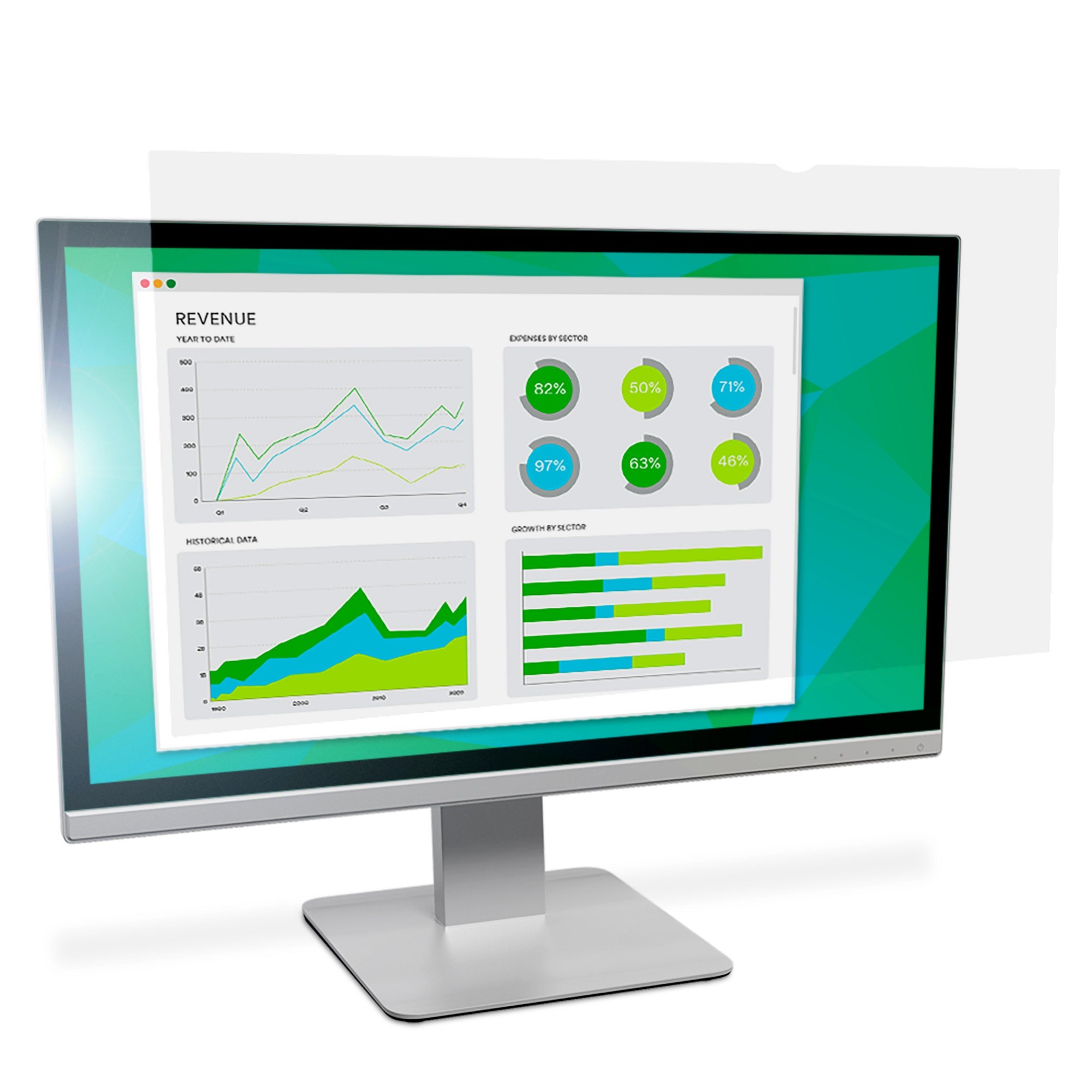 "3M Anti-Glare Filter for 19.5"" Widescreen Monitor"