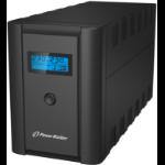 PowerWalker VI 2200 LCD/IEC uninterruptible power supply (UPS) Line-Interactive 2200 VA 1200 W 6 AC outlet(s)