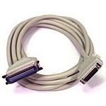 C2G 3m IEEE-1284 C36/MC36 Cable 3m Grey printer cable