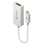 ALOGIC Premium 15cm Mini DisplayPort to HDMI Adapter - Male to Female - WHITE