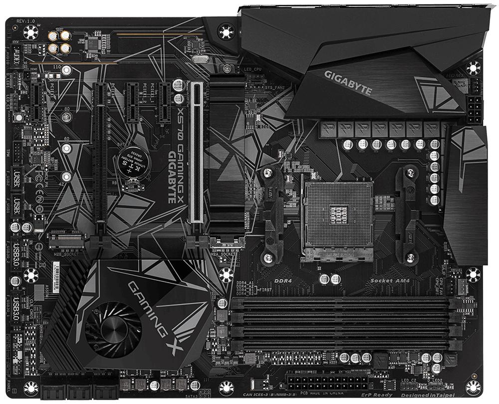 Gigabyte X570 GAMING X (rev. 1.0) motherboard Socket AM4 ATX AMD X570