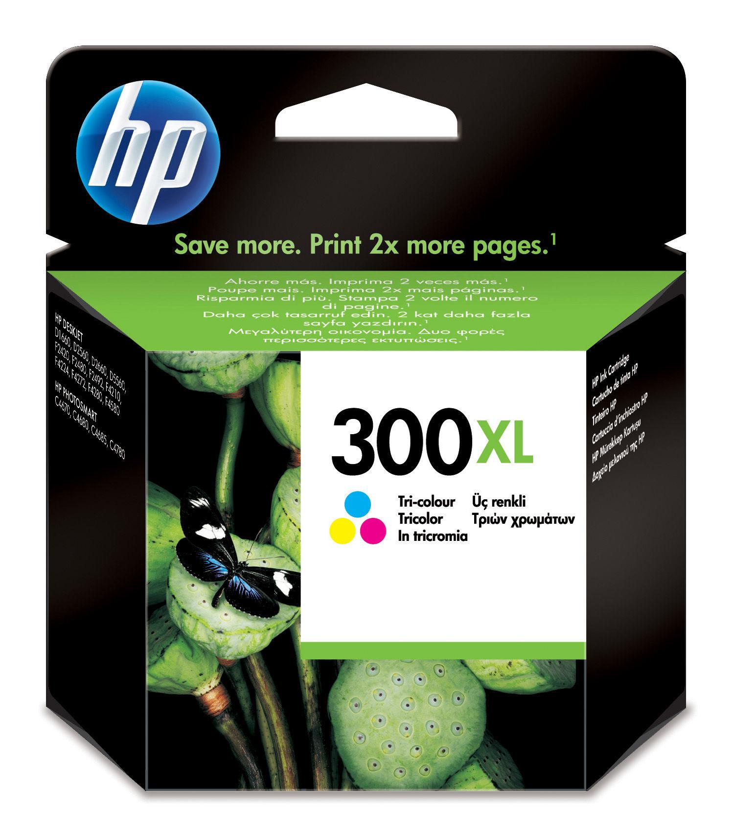 HP 300XL Origineel Cyaan, Magenta, Geel 1 stuk(s)