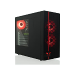 Riotoro CR488 computer case Midi-Tower Black,Red