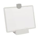 Tripp Lite DMWP811VESAMW Magnetic Dry-Erase Whiteboard with Stand - VESA Mount, 3 Markers (Red/Blue/Black), White Frame