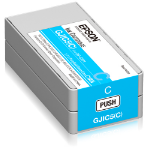 Epson GJIC5(C): Ink cartridge for ColorWorks C831 (Cyan) (MOQ=10)