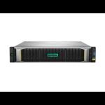 Hewlett Packard Enterprise MSA 2050 SAN Dual Controller SFF Rack (2U) Black,Silver disk array Q1J01A