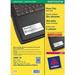 Avery L6011-20 Silver printer label