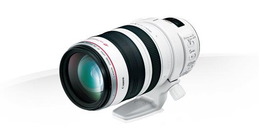 Canon EF 28-300mm f/3.5-5.6L IS USM SLR Teleobjetivo Blanco