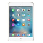 Apple iPad mini 4 128GB 3G 4G Gold tablet