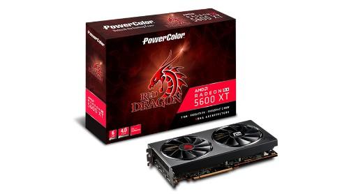 PowerColor Red Dragon AXRX 5600XT 6GBD6-3DHR/OC graphics card AMD Radeon RX 5600 XT 6 GB GDDR6