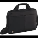 """Wenger/SwissGear Format 14 notebook case 35.6 cm (14"""") Briefcase Black"""