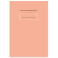 Silvine Exercise Book 5mm Square 75gsm 80 Pages A4 Orange Ref EX113 [Pack 10]