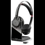 Plantronics Voyager Focus UC B825 headset Head-band Binaural Black