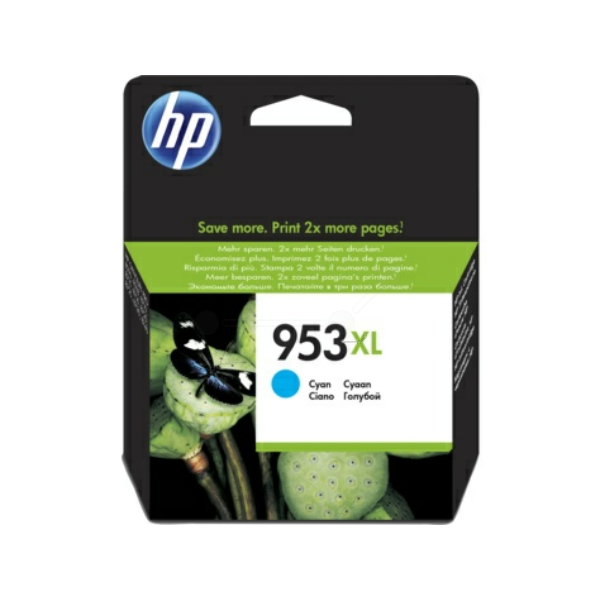 HP F6U16AE (953XL) Ink cartridge cyan, 1.6K pages, 20ml