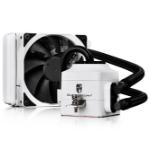 Deepcool Gamer Storm Captain 120EX AIO Liquid Cooling, WHITE (Free AM4 Clip)