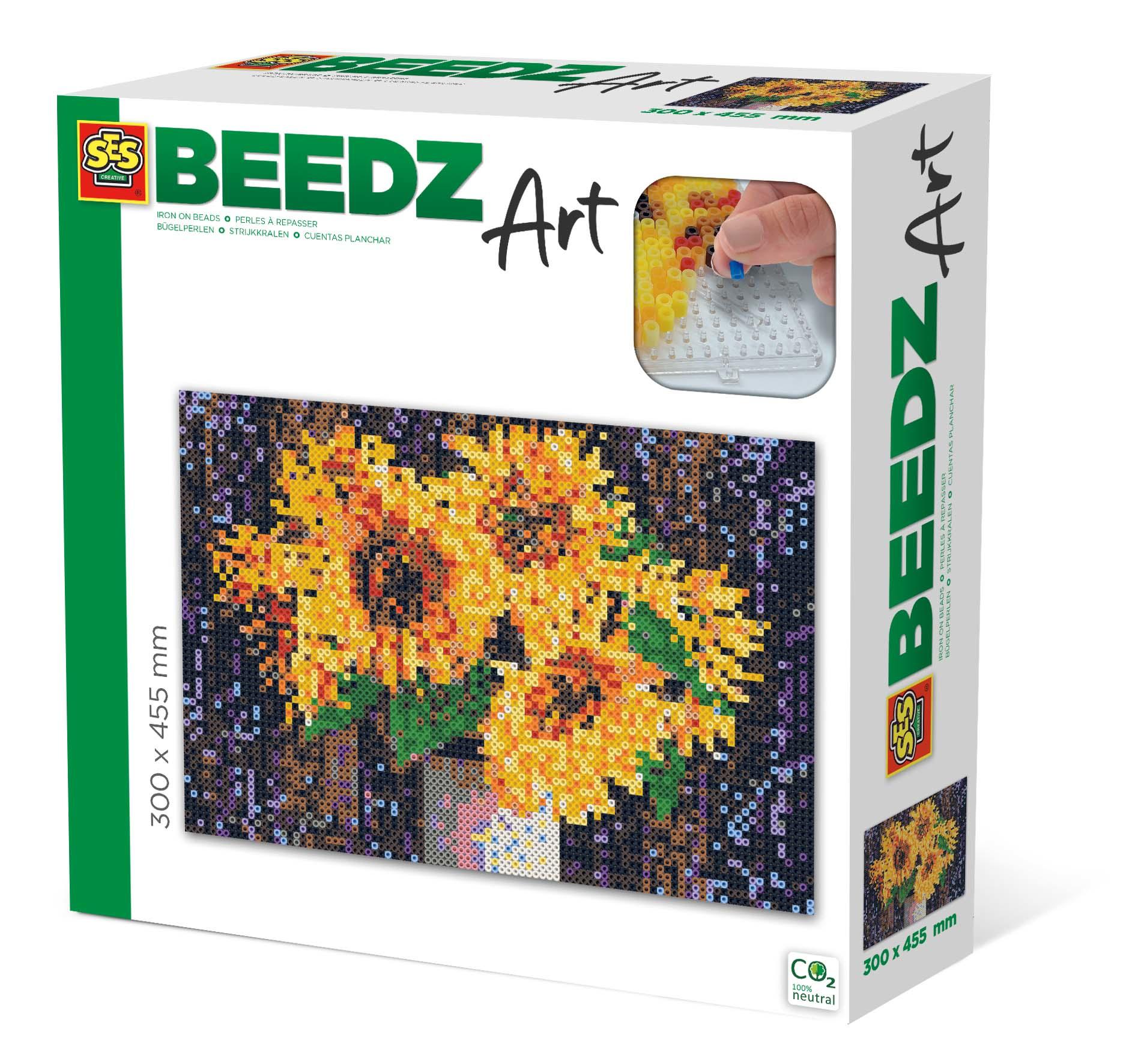 SES Creative Beedz art - Sunflowers
