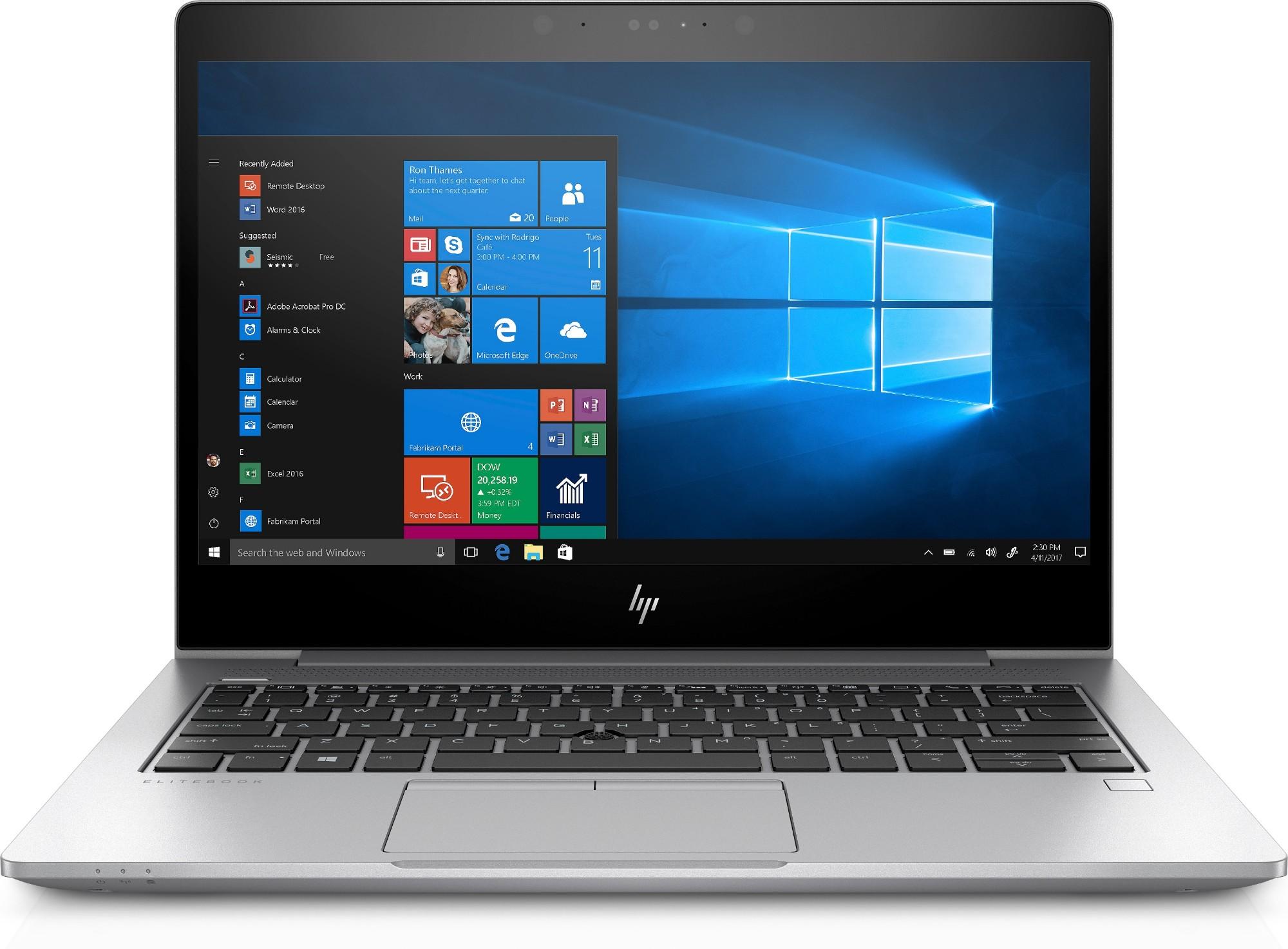 "HP EliteBook 830 G5 Silver Notebook 33.8 cm (13.3"") 1920 x 1080 pixels 8th gen Intel® Core™ i5 16 GB DDR4-SDRAM 512 GB SSD Windows 10 Pro"