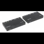 Manhattan 207638 AV transmitter & receiver Black AV extender