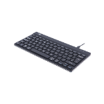 R-Go Tools R-Go Compact Break Keyboard, QWERTY (UK), black, wired