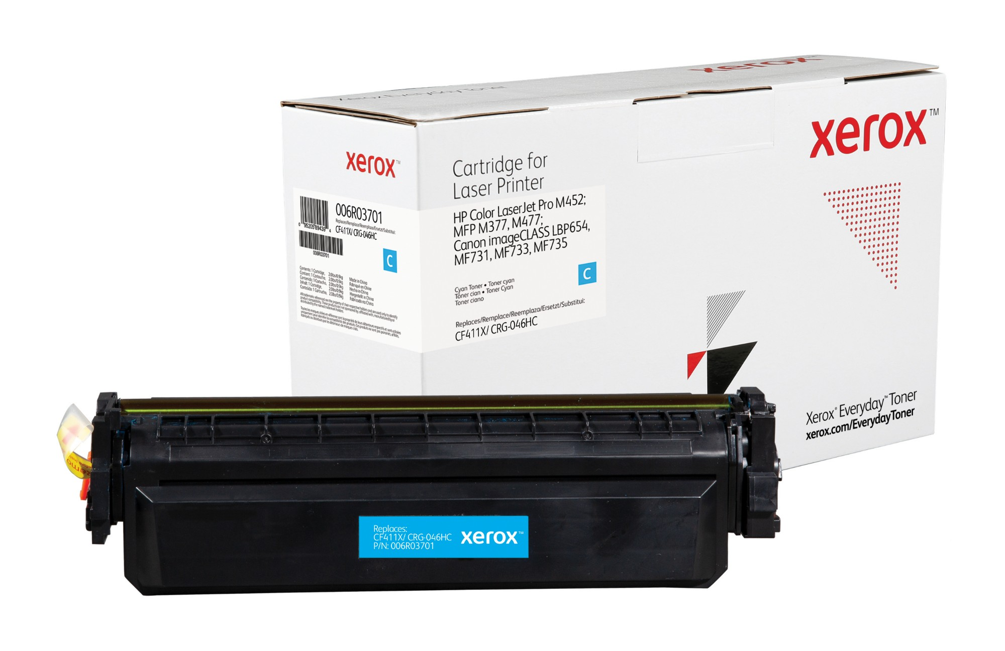 Xerox 006R03701 compatible Toner cyan, 5K pages (replaces Canon 046H HP 410X)