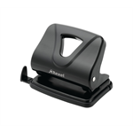 Rexel Ecodesk 2 Hole Punch Black