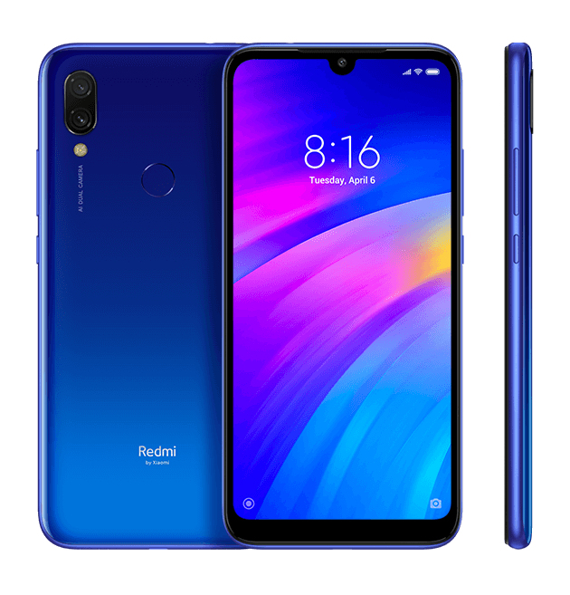 "Xiaomi Redmi 7 15,9 cm (6.26"") 3 GB 64 GB Dual SIM 4G Blauw 4000 mAh"