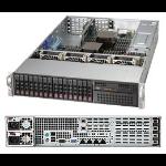 Supermicro SuperServer 2027R-N3RFT+ Intel® C606 LGA 2011 (Socket R) Rack (2U) Black