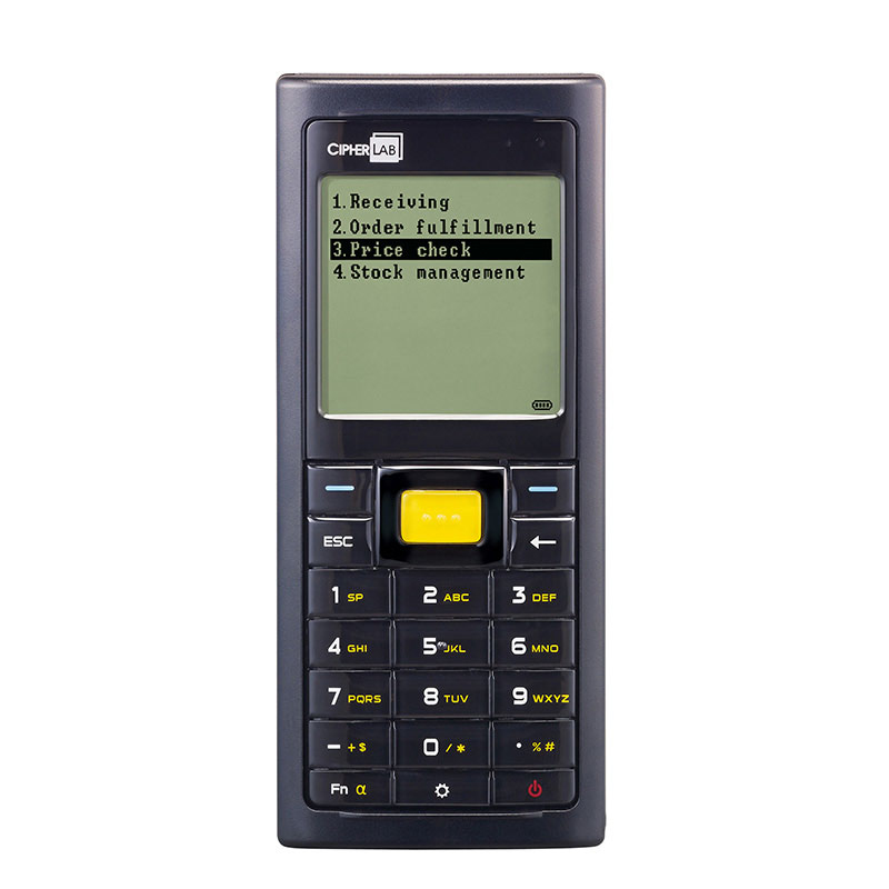 "CipherLab 8230 handheld mobile computer 5.33 cm (2.1"") 160 x 160 pixels 150 g Black"