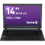 "Wortmann AG TERRA MOBILE 1451 2.2GHz i3-5020U 14"" 1920 x 1080pixels Anthracite Notebook"