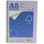 Silvine EVERYDAY A5 TWINWIRE NOTEBOOK