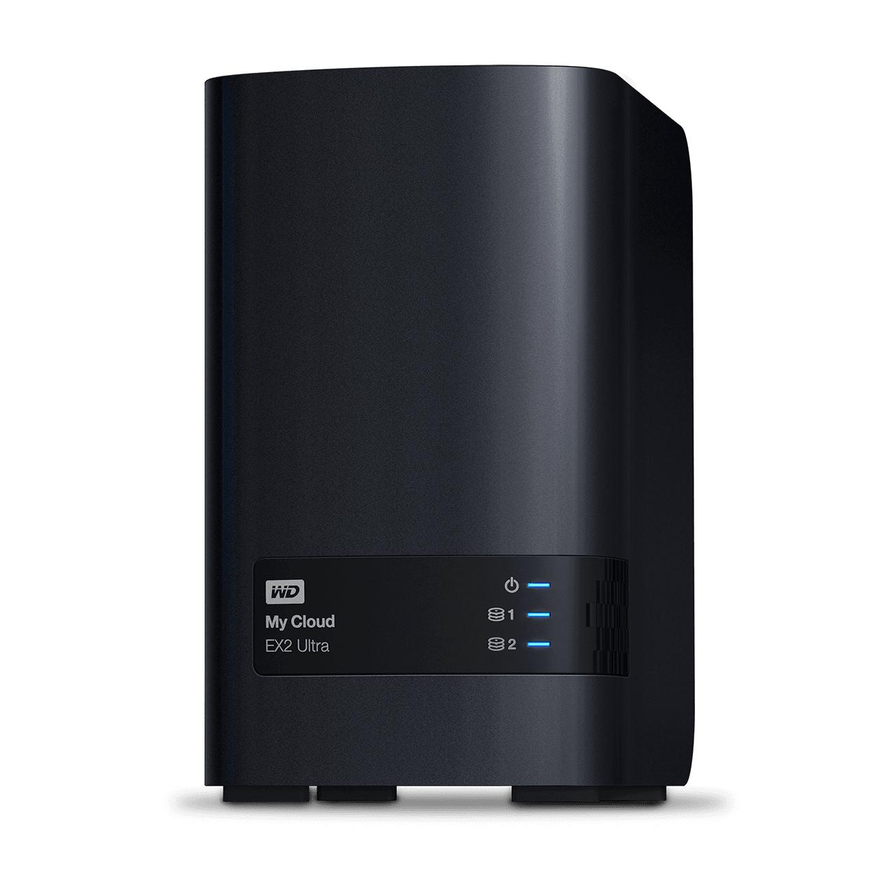 Western Digital My Cloud EX2 Ultra Armada 385 Ethernet Negro NAS