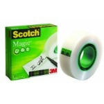 Scotch Magic Tape, 19mmx33m, Matt 33 m
