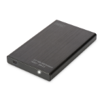 "Digitus DA-71104 HDD/SSD enclosure 2.5"" Black HDD/SSD enclosure"